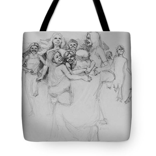 Let The Children Come Tote Bag