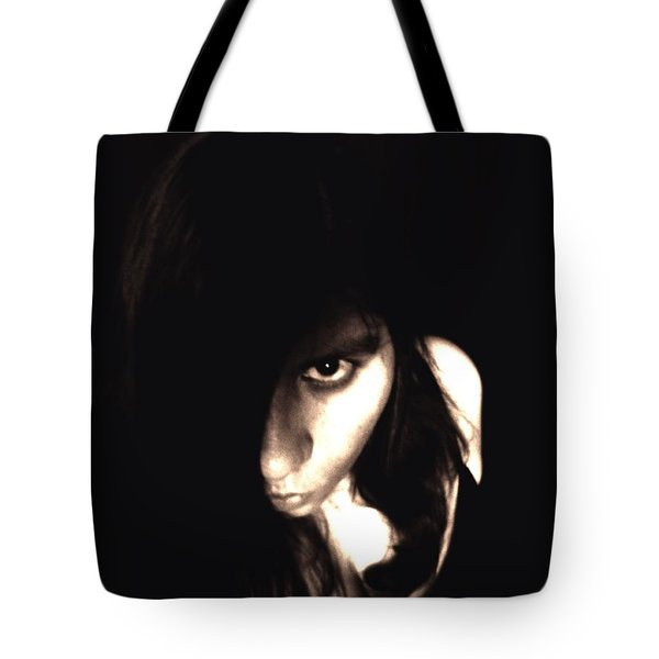 Tote Bag featuring the photograph Let The Darkness Take Me by Vicki Spindler