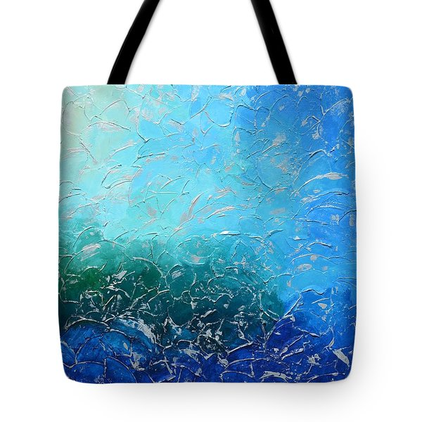 Let The Sea Roar With All Its Fullness Tote Bag