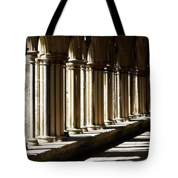 Tote Bag featuring the photograph Let The Sun Shine Through by Wendy Wilton
