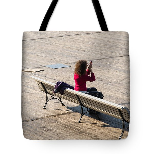 Let The Universe Wait - Featured 3 Tote Bag by Alexander Senin