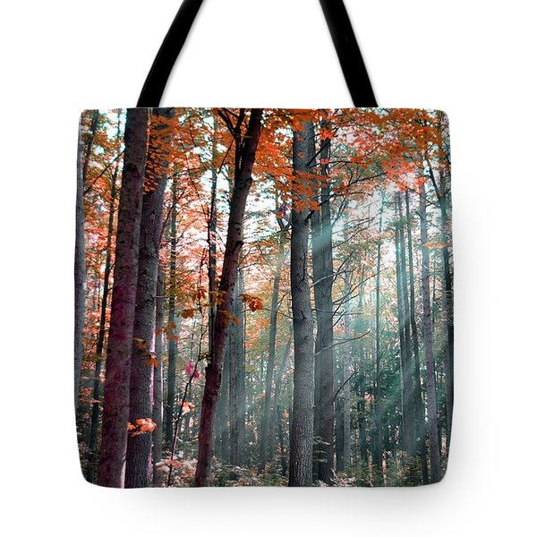 Let There Be Light Tote Bag by Terri Gostola