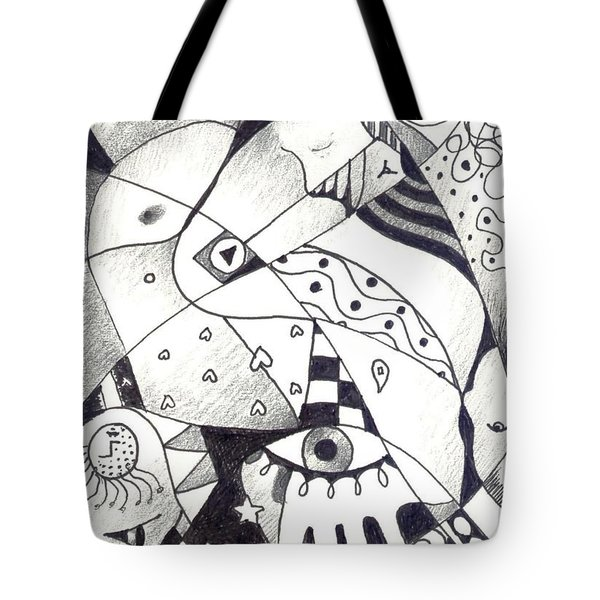 Let Us Dance Tote Bag by Helena Tiainen