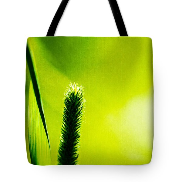 Let World Be Green Tote Bag by Alexander Senin