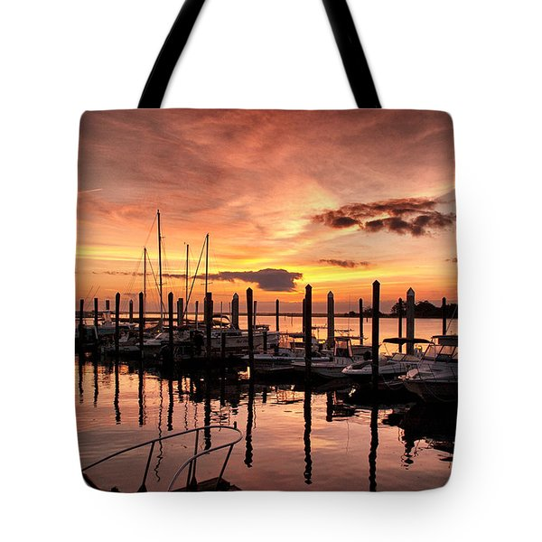 Tote Bag featuring the photograph Let Your Light Shine by Phil Mancuso