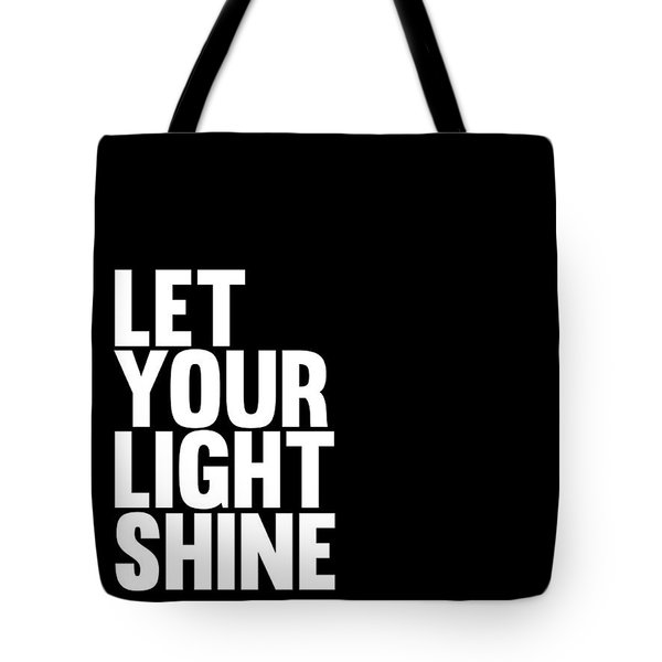 Let Your Light Shine Poster 2 Tote Bag