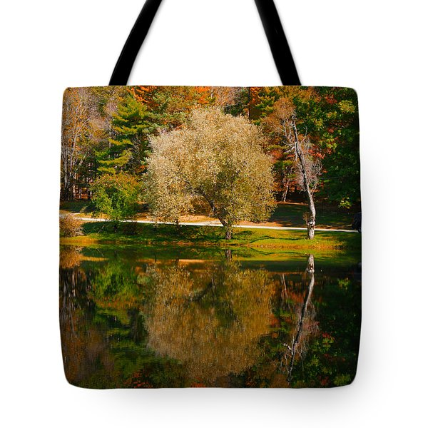 Letchworth Autumn Reflections Tote Bag