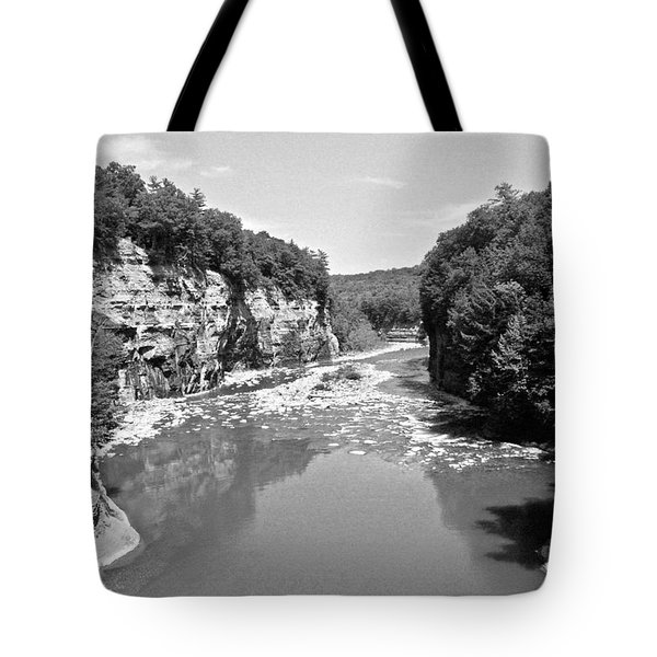 Letchworth State Park Tote Bag