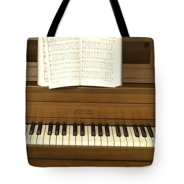 Let's All Sing Together Tote Bag