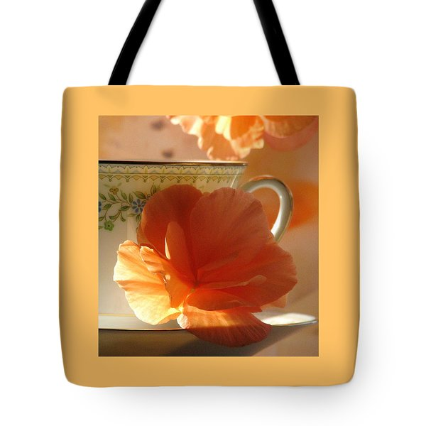 Let's Have Tea Tote Bag by Angela Davies