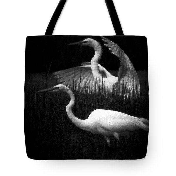 Let's Just Wing It Tote Bag by Robert McCubbin