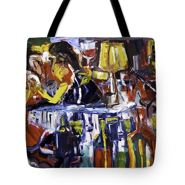 Let's Pay And Go Tote Bag