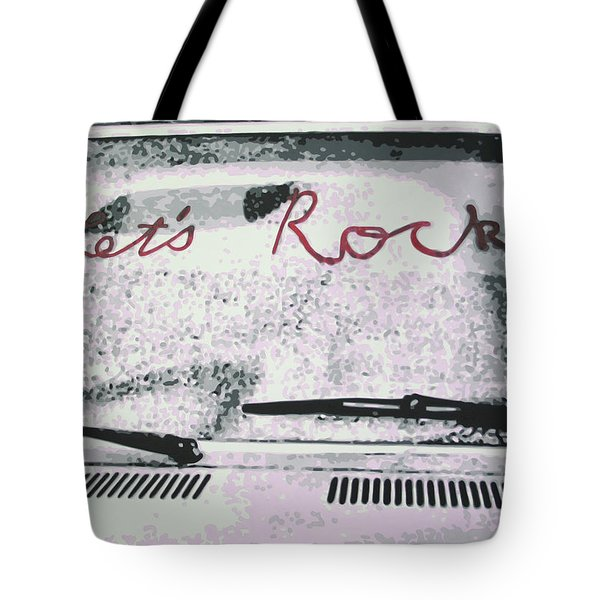 Lets Rock Tote Bag
