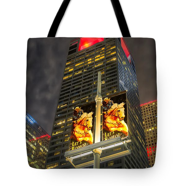 Let's Rodeo Tote Bag