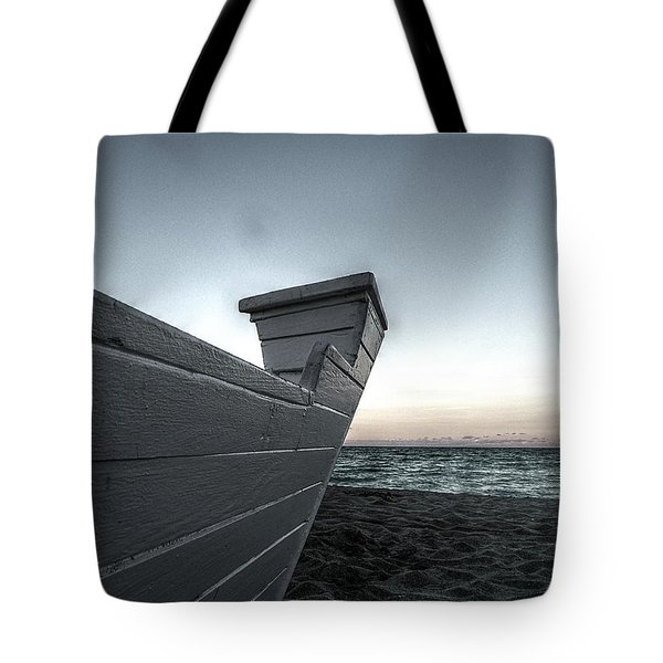 Let's Sail To The Moon Tote Bag by Richard Reeve