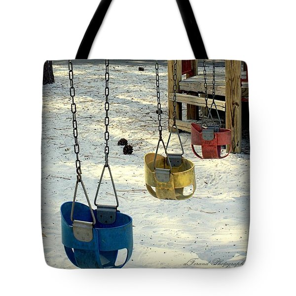 Let's Swing Tote Bag by Debra Forand