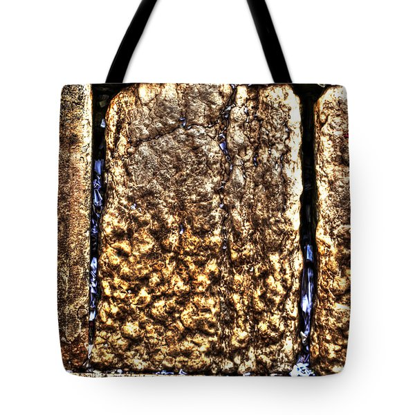 Tote Bag featuring the photograph Letters In The Wailing Wall by Doc Braham