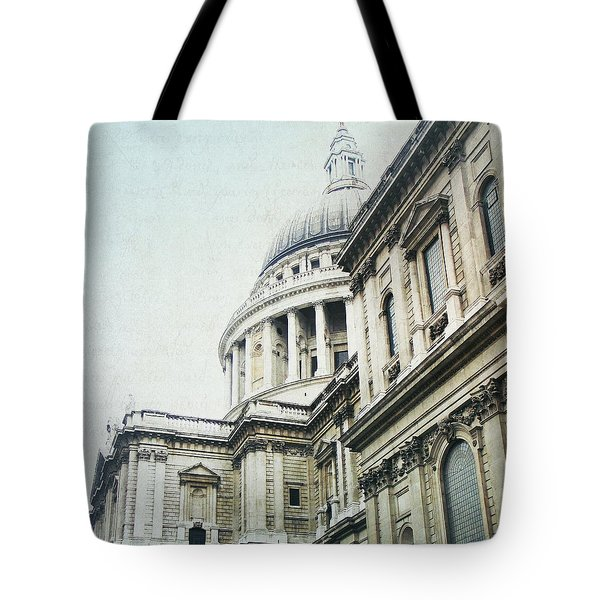 Letters From London Tote Bag