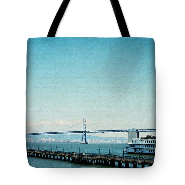 Tote Bag featuring the photograph Letters From San Francisco by Lisa Parrish