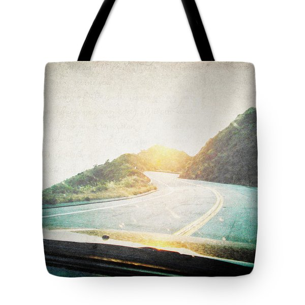 Letters From The Road Tote Bag