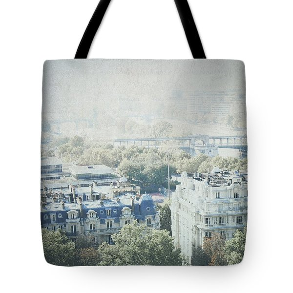 Letters From The Seine - Paris Tote Bag