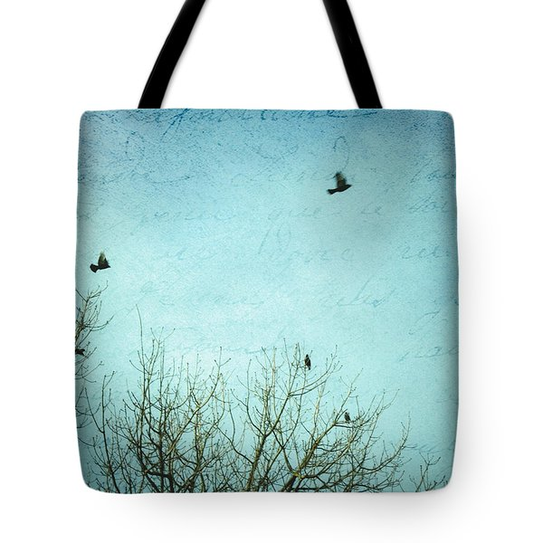 Tote Bag featuring the photograph Letters Of Flight by Lisa Parrish