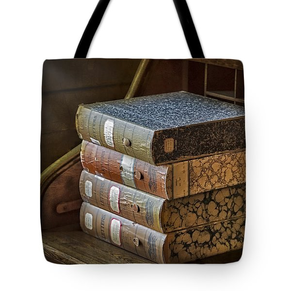 Letters Tote Bag by Susan Candelario