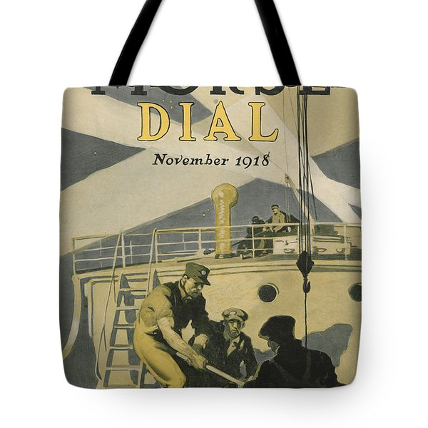 Letters To Our Boys In France Tote Bag by Edward Hopper
