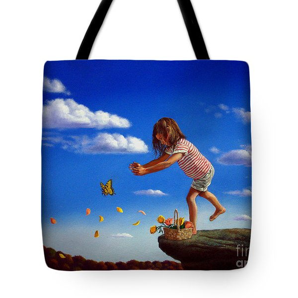 Letting It Go Tote Bag by Christopher Shellhammer