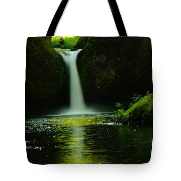 Letting The Calm Tote Bag by Jeff Swan