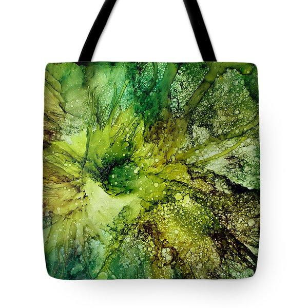 Lettuce Flower Tote Bag by Kathy Sheeran