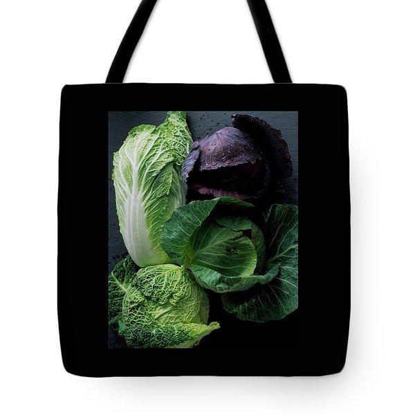 Lettuce Tote Bag by Romulo Yanes