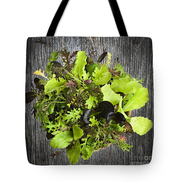 Lettuce Seedlings Tote Bag