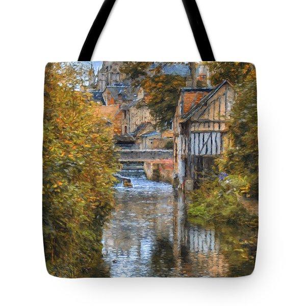 L'eure A Louviers Tote Bag