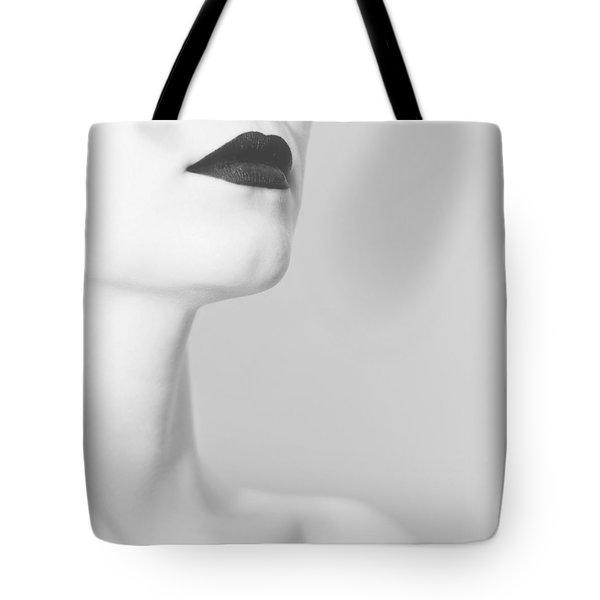 Levres Noires Tote Bag