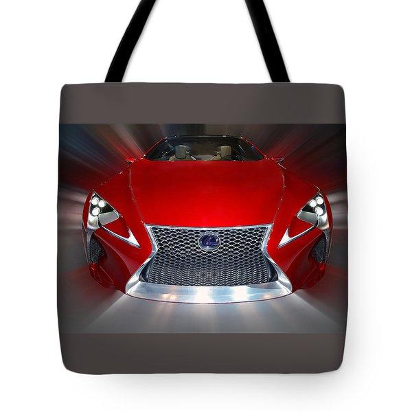 Lexus L F - L C Hybrid 2013 Tote Bag