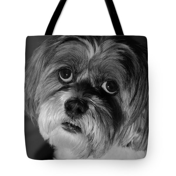 Lhasa Puppy Cut Tote Bag