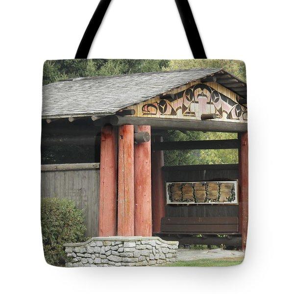 Lheit-li National Burial Grounds Entranceway Tote Bag