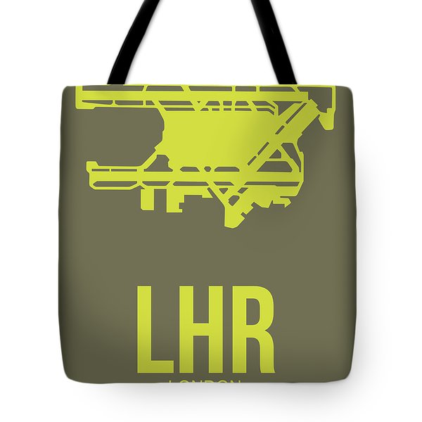 Lhr London Airport Poster 3 Tote Bag