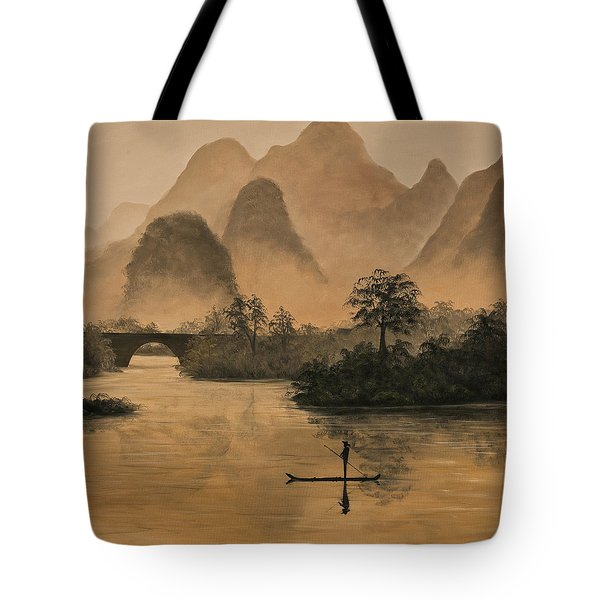 Li River China Tote Bag