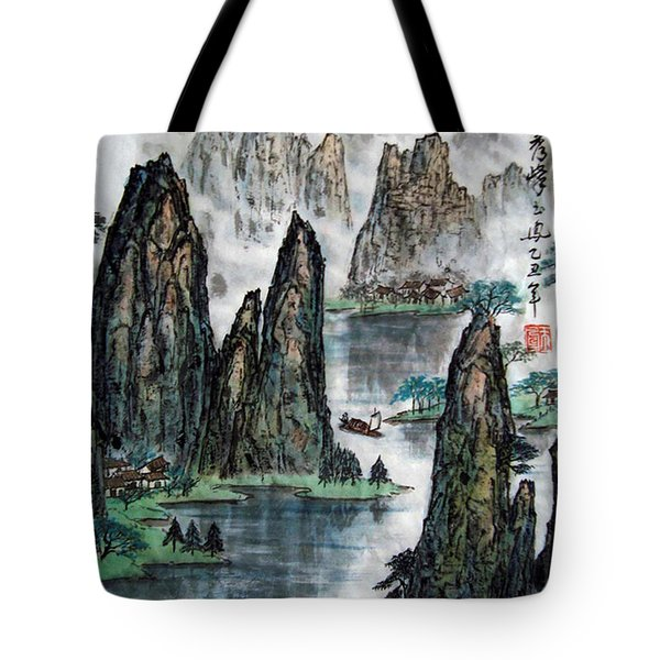 Li River Tote Bag