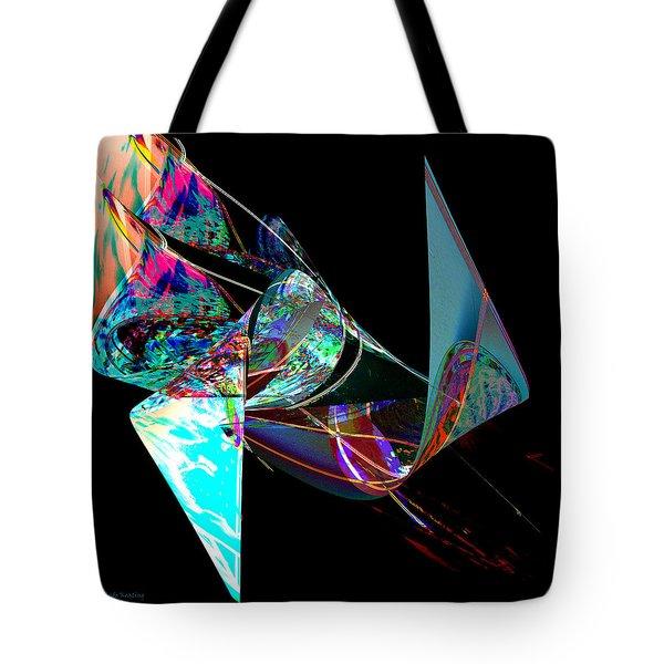 Tote Bag featuring the digital art Liaison by Gerlinde Keating - Galleria GK Keating Associates Inc
