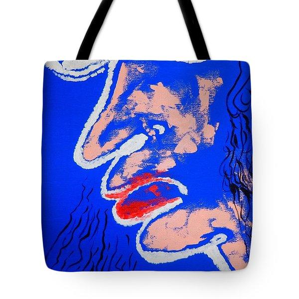 Liar Tote Bag by Piety Dsilva