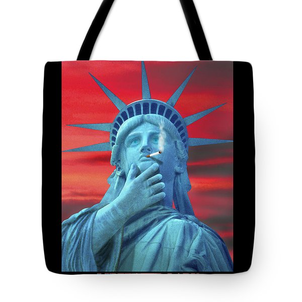 Liberated Lady Tote Bag by Mike McGlothlen