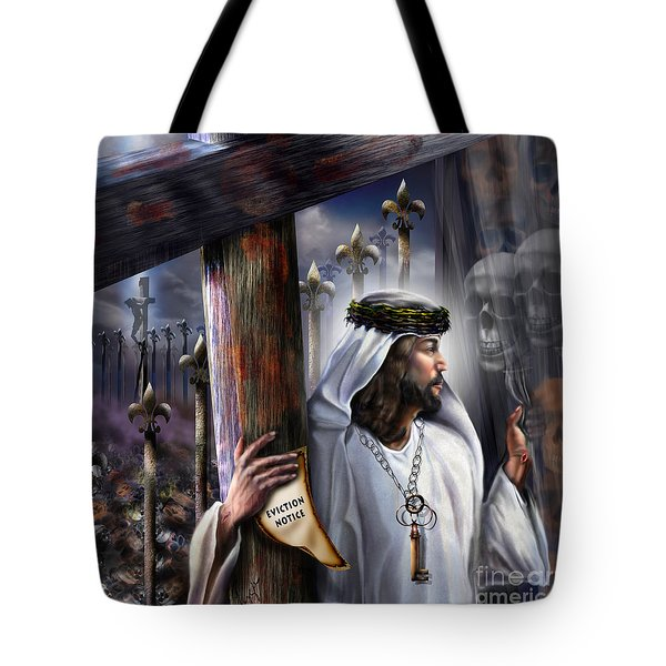 Liberation Beyond Comprehension1 Tote Bag by Reggie Duffie