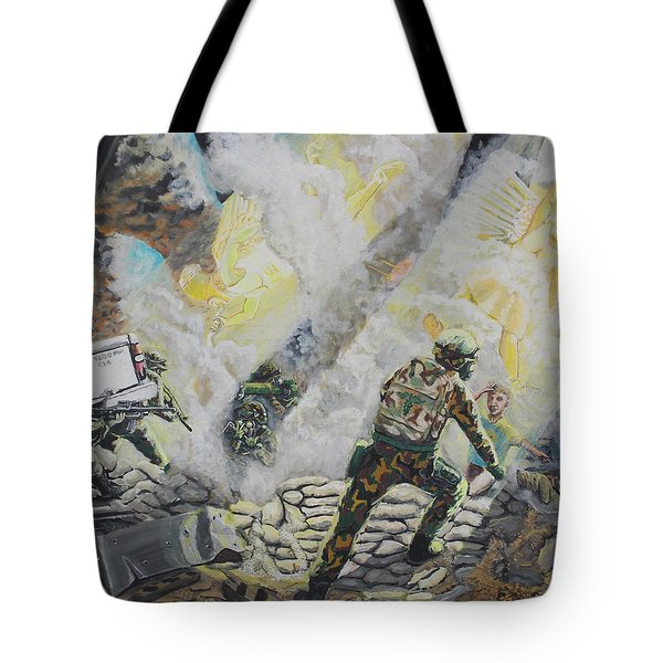 Liberator's Guardian Angles Tote Bag