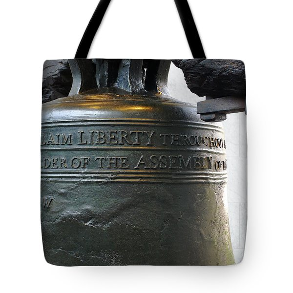 Liberty Bell Tote Bag by Richard Reeve