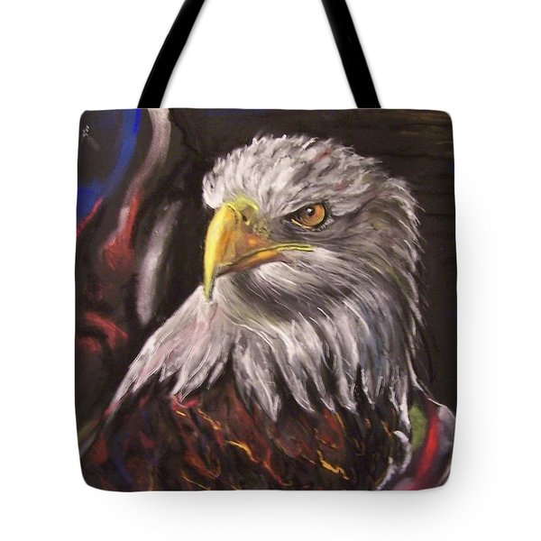 American Pride Tote Bag by Peter Suhocke
