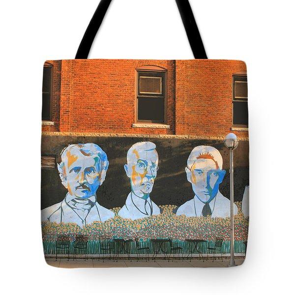 Liberty Street Mural Tote Bag