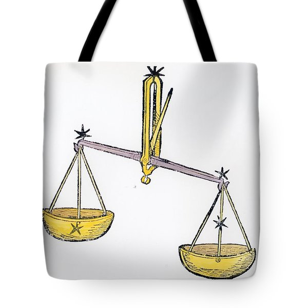 Libra An Illustration From The Poeticon Tote Bag by Italian School